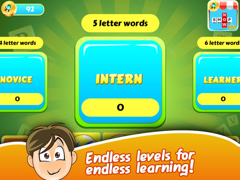 Word Blues - Falling Letters Vocabulary Builder Free