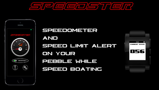 Speedster-Speed Boat Speedometer and Speed Limit Alert for Pebble Smartwatch|玩交通運輸App免費|玩APPs