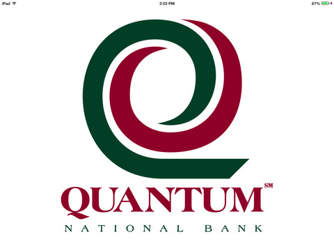 Quantum National Bank Mobile Banking for iPad