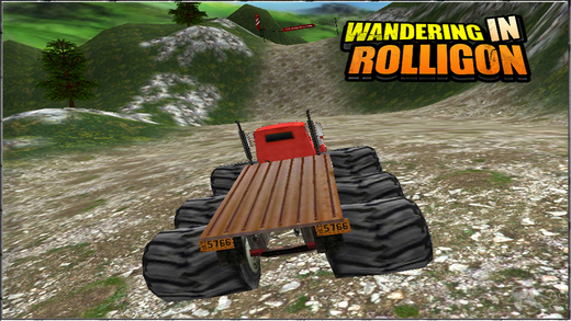 Wandering In Rolligon Off-road Simulation Game