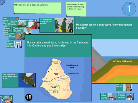 Digital Mysteries: Volcanic Eruption Geography