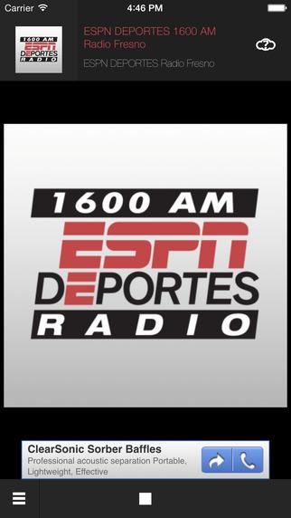 ESPN DEPORTES Sports Radio 1600 AM Fresno