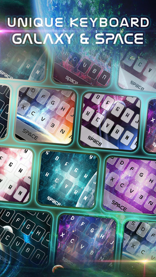 KeyCCM – Space and Galaxy : Custom Color Wallpaper Keyboard Themes Solar System Star in Universe Sty
