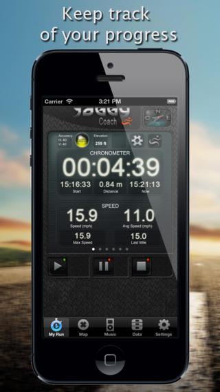 Joggy Coach - Running Jogging GPS Stopwatch