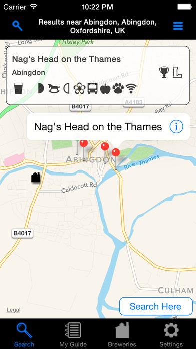 CAMRA Good Beer Guide Mobile iPhone Screenshot 3