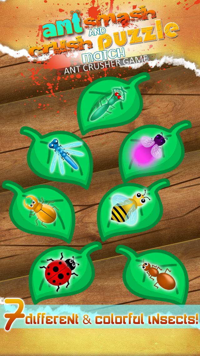 Ant Matching Pop – Puzzle Bug Crushing Mania