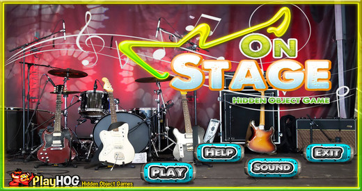 On Stage - Free Hidden Object Games