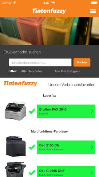 Tintenfuzzy - Alles für Ihren Drucker