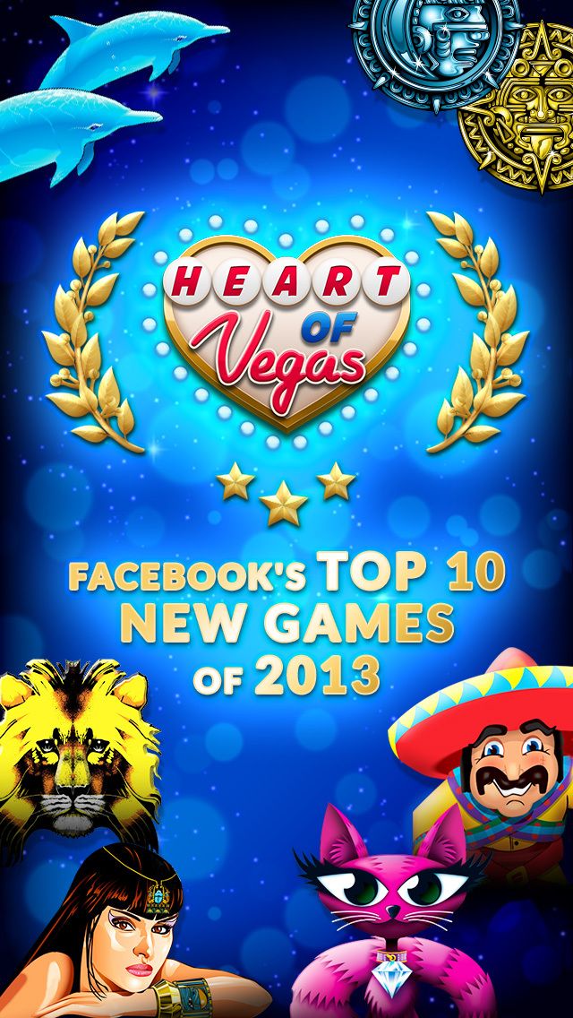 Heart of Vegas: Play Free Casino Slots!  Screenshot