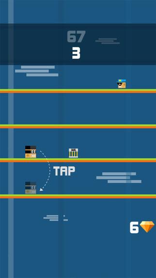 Prison Ninja Fun Run Pro - Little Blocky Cube Run