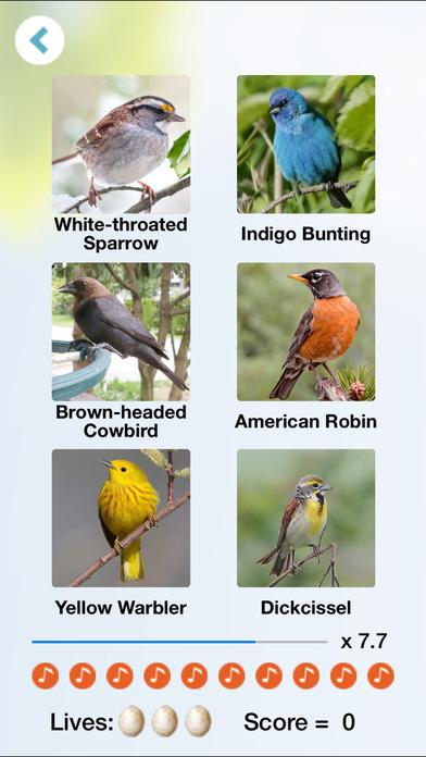 Chirp! Bird Songs USA iPhone Screenshot 3