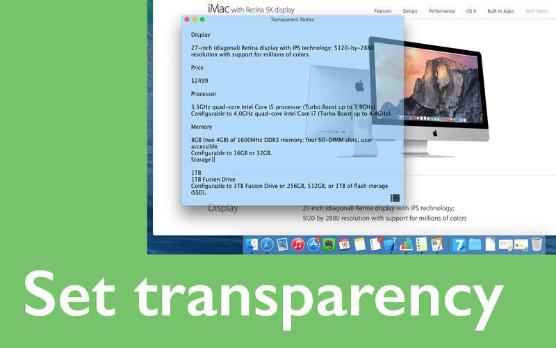 Transparent Note Screenshot - 2
