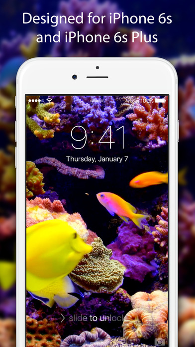 App shopper live wallpapers themes free animated for Live wallpaper home screen 6s