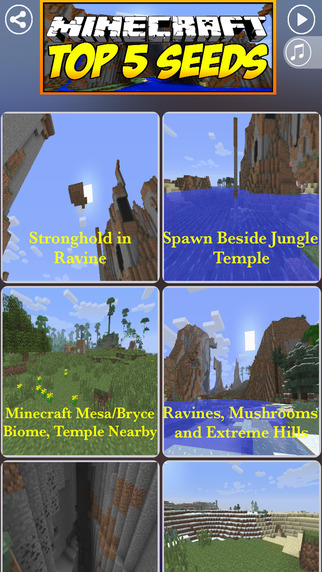 Seeds Guide Codes for Minecraft : Crafty Guide and Secrets fоr MС