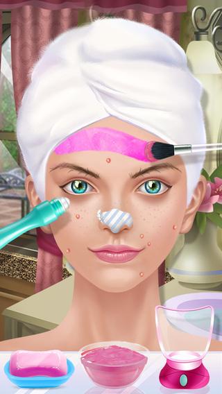 Pink Princess - Beauty Salon Fashion Dress Up and Make-Up