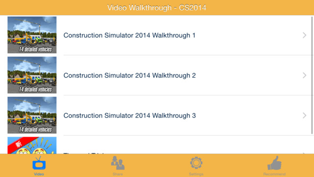 Video Walkthrough for Construction Simulator 2014