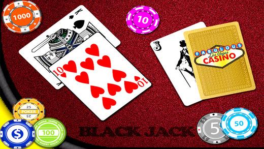 A Aj Blackjack 21 + Free casino style Las Vegas best poker cards game make rich