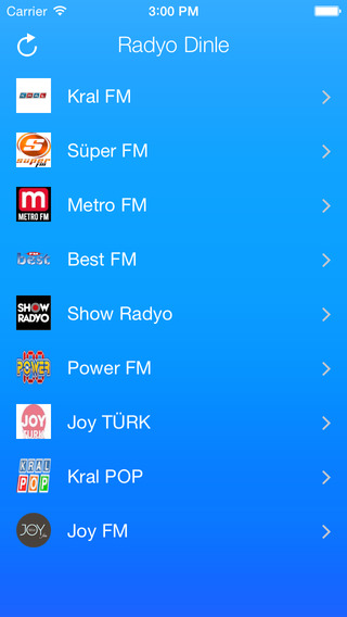 Turkish Radio Stations