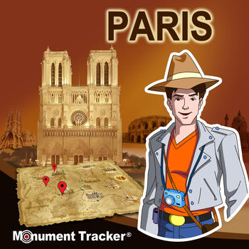 Brad in Paris – Fun & challenging travel Guide for Paris' History for kids & adults 旅遊 LOGO-玩APPs