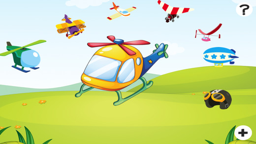 Active Counting Game for Children Learn to Count 1-10 with Flying Engines and Helicopters
