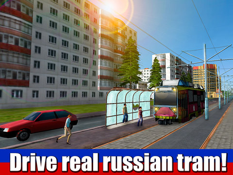 Russian Tram Driver 3D Screenshots