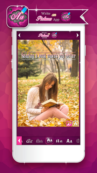 Write on Pictures Editor: Add Text and Messages to Photos