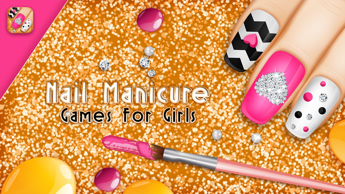 App Shopper: Nail Manicure Games For Girls: Beauty Makeover Ideas ...
