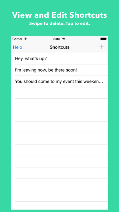 Shortcuts Keyboard - Create and use shortcuts Screenshots