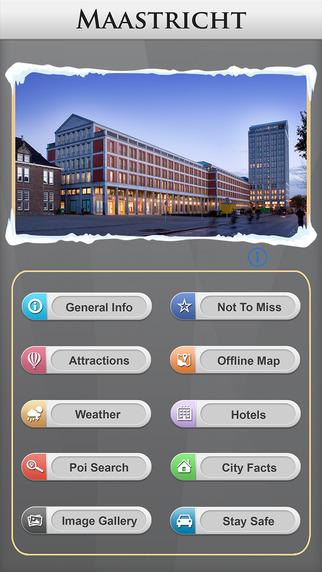 Maastricht Offline Map Travel Guide