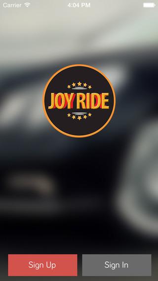Joy Ride Driver App
