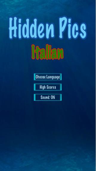 Hidden Pics - Italian