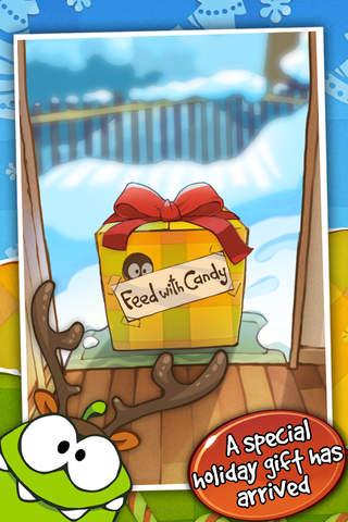 Cut the Rope: Holiday Gift app screenshot