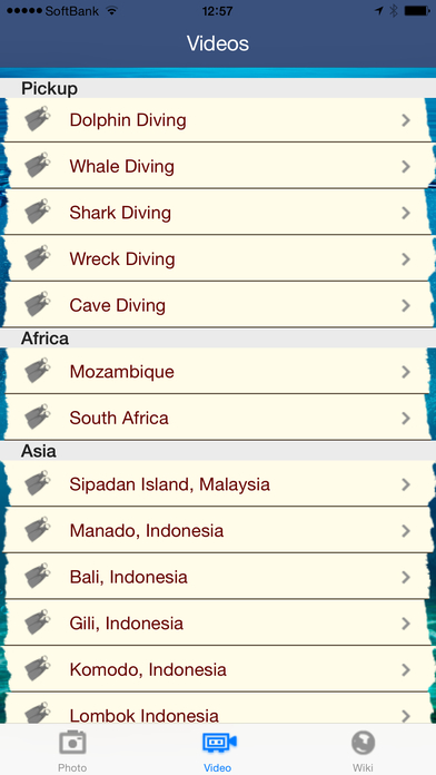 Scuba World iPhone Screenshot 3