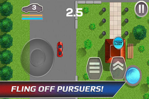 Car Chase - High-Speed Police Escape screenshot 2