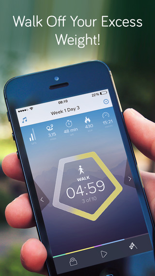 Walking for Weight Loss: training plan GPS how-to-lose-weight tips by Red Rock Apps