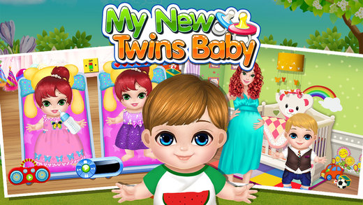 Baby Twins Play House Free Kids Games