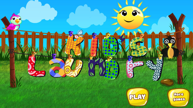 Kids Laundry Washing - Clean up and clothes wash game