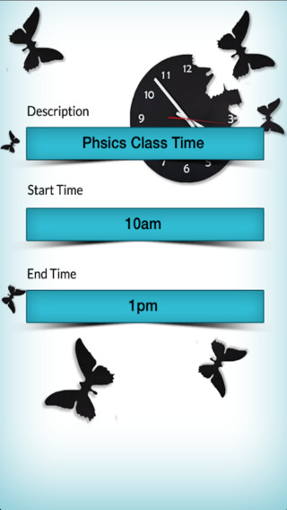 Daily Time Table