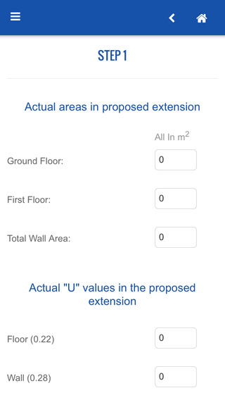 Part L1b Area Weighted U-Value
