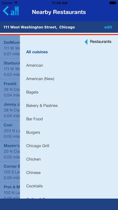 Allmenus iPhone Screenshot 3