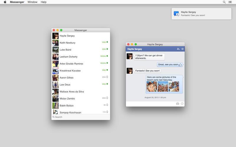 Messenger for Facebook Screenshot - 1