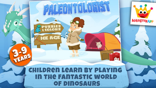 Paleontologist - Ice Age for Kids -