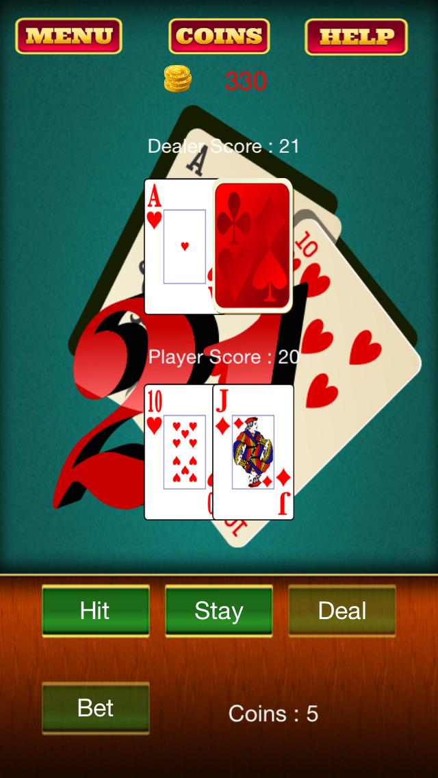 blackjack strip palm