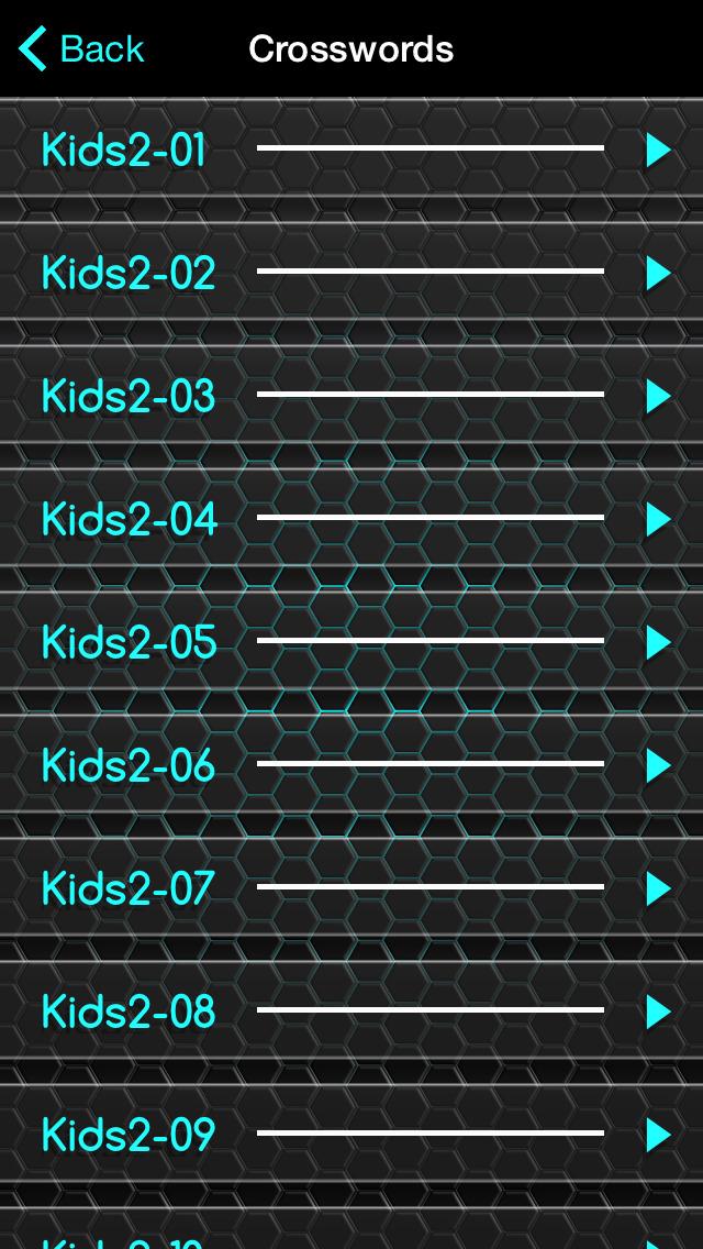 Crosswords for Kids 2