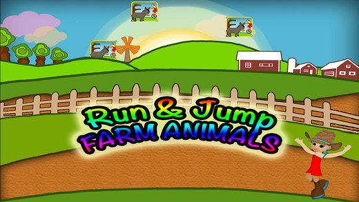 Animals Run Preschool Farm Learning Experience Game