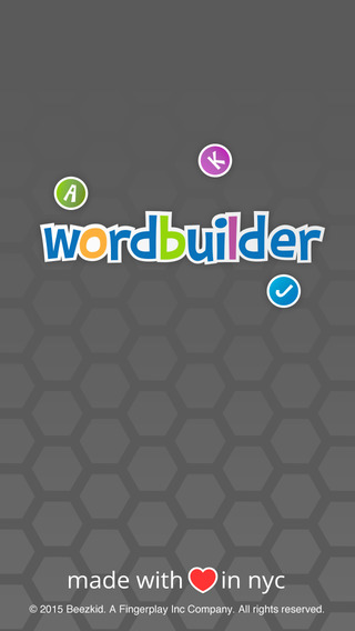 Word Builder - Learning Word letters and Alphabets Game for preschooler and toddlers kids Free