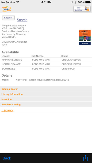OCLS Shake It! iPhone Screenshot 3