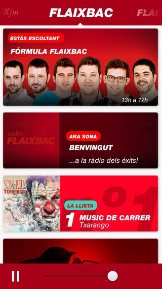 FLAIX fm iPhone Screenshot 2