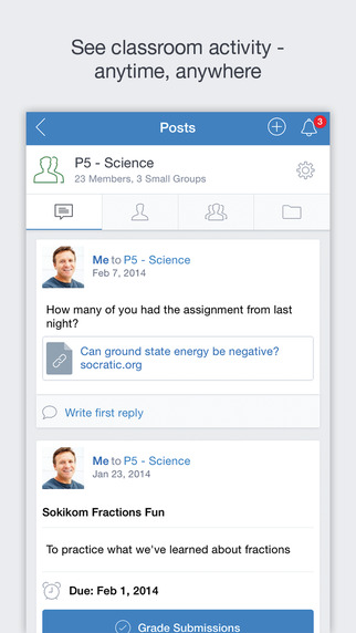 Edmodo Screenshot