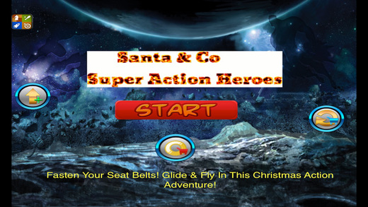 Santa Claus Comic Company of Justice Super Action Hero Outbreak Pro - Christmas is Here